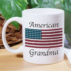 American Flag Personalized Ceramic Coffee Mug
