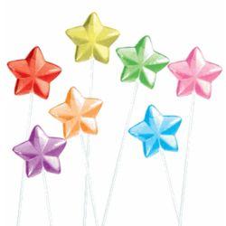 40 Solid Star Twinkle Pops