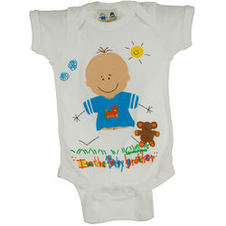 Personalized Baby Brother Bodysuit