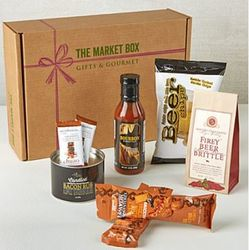 Bacon, Bourbon and Beer Market Gift Box