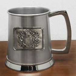 Royal Crested Initial Yardley Beer Stein