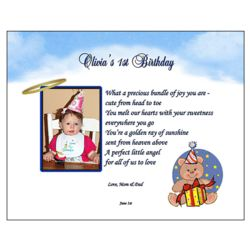 1st Birthday Personalized Poem