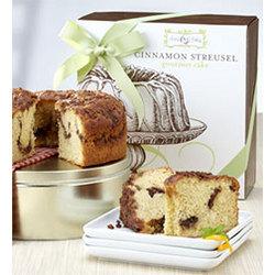 Classic Cinnamon Streusel Cake