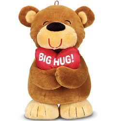 Valentine's Day Big Hug Plush Bear