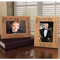 Personalized One of the Guys Jr. Groomsman Picture Frame