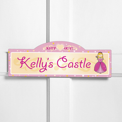 Personalized Her Royal Highness Kid's Room Sign