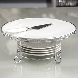 Siena Cake Stand with Dessert Plates & Server