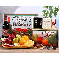 Cliffside Cabernet, Fruit and Truffle Gift Box