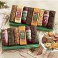 8 Holi-Bars Cheese and Summer Sausage Gift Box