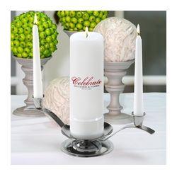 Personalized Celebration Unity Candle Set
