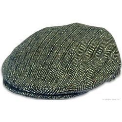 Curragh Donegal Tweed Cap