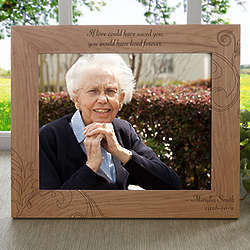 Never Forgotten Personalized Memorial Picture Frame