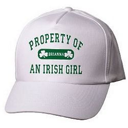Property of an Irish Personalized Hat