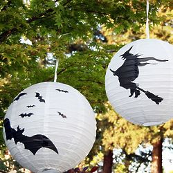 Halloween Paper Lantern Light