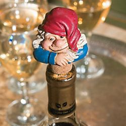 Gnome Wine Stopper