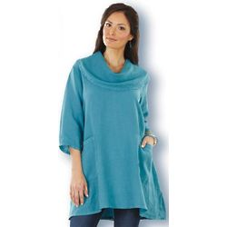 Wedgewood Cowl Neck Tunic