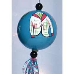 Fashionista Bauble Ornament