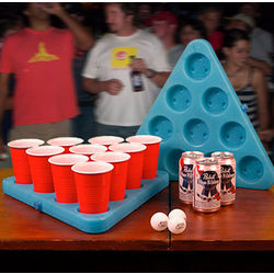 N-Ice Rack Beer Pong Freezer Set