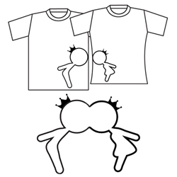 Kissing You Couple T-Shirts