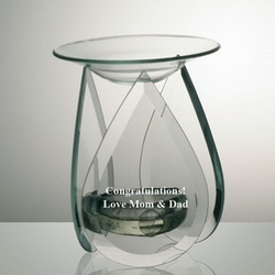 Personalized Glass Oil Burner