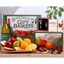 Cliffside Chardonnay, Fruit and Truffle Gift Box