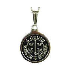 Personalized Irish Coat of Arms Silver Pendant