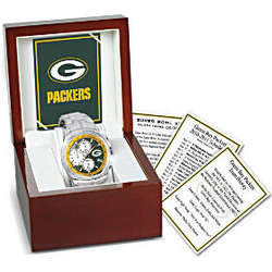 Green Bay Packers Super Bowl XLV Champions Collector's Watch