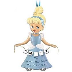 My Princess of a Granddaughter Personalized Ornament