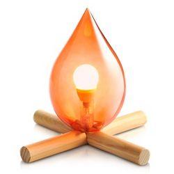 Fire Kit Table Lamp