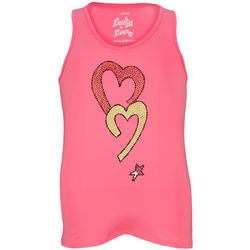 Girl's Lucky in Love Rhinestone Tennis Tank Top