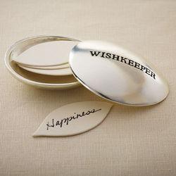 Engraved Wishkeeper Pewter Box