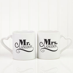 Happy Couple Personalized Mug Set