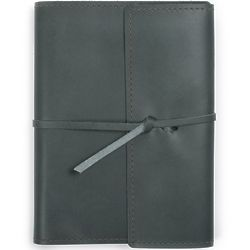 Writers Log Refillable Leather Notebook