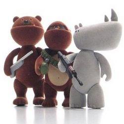 I.W.G. Attack Pack Deluxe Edition Mini Figure Box Set