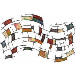 Abstract Harmony Metal Wall Art
