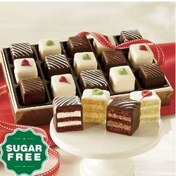 Sugar-Free Petits Fours Gift of 24