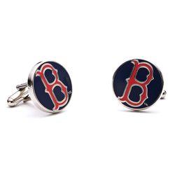 Classic Boston Red Sox Cufflinks