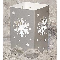 Snowflake Tabletop Lanterns Set