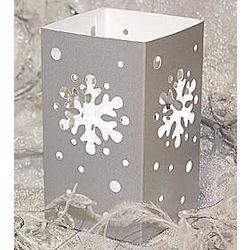 Snowflake Tabletop Lanterns Set