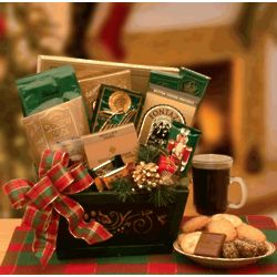 Here's to the Holiday Gift Basket