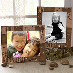 Our Hearts Belong to Her Engraved 8x10 Picture Frame
