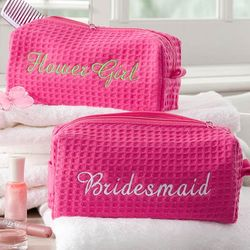 Personalized Bridal Party Cosmetic Bag