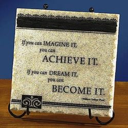 If You Can Imagine It Plaque