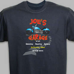 Personalized My Garage T-Shirt