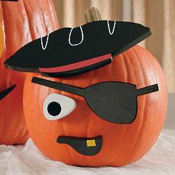 Pirate Pumpkin Decorating Kit