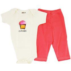Organic Cotton Cupcake Bodysuit and Leggings