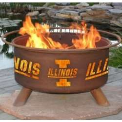 College Logo Fire Pit