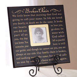 Broken Chain Photo Frame