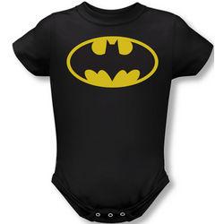 Batman Logo Infant Snapsuit