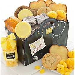 Baked Delights Get Well Soon Gift Basket